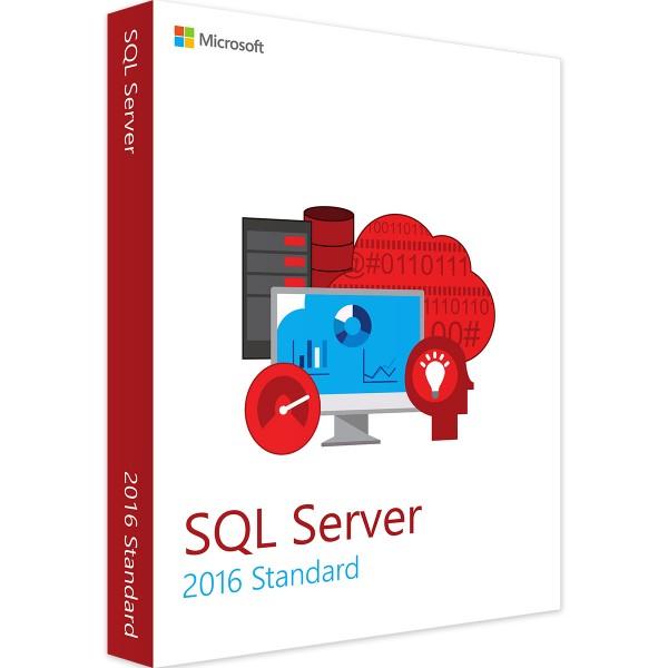 MICROSOFT SQL SERVER 2016 STANDARD 2-CORE