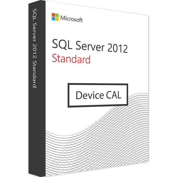 MICROSOFT SQL SERVER 2012 DEVICE CAL