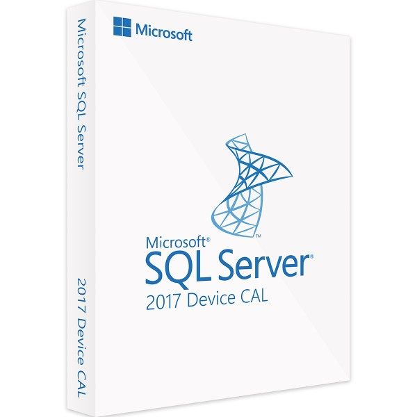 MICROSOFT SQL SERVER 2017 DEVICE CAL