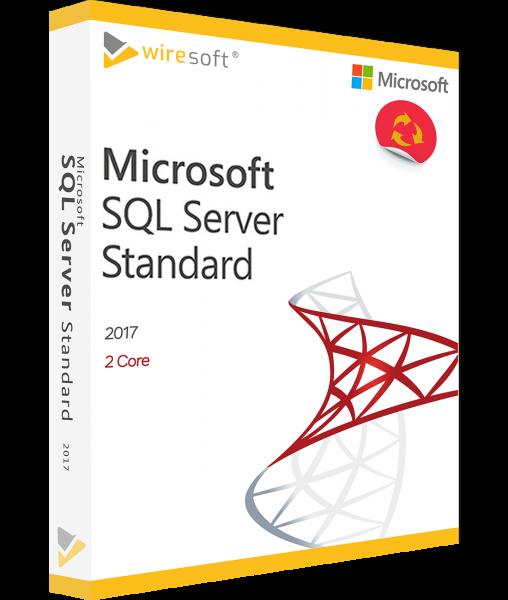 MICROSOFT SQL SERVER 2017 STANDARD 2-CORE