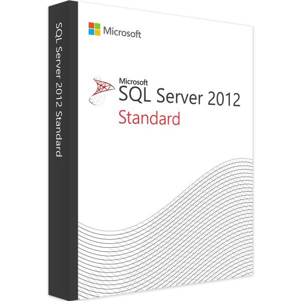 MICROSOFT SQL SERVER 2012 STANDARD