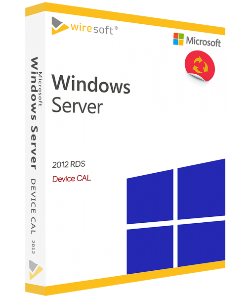 MICROSOFT REMOTE DESKTOP SERVICES 2012 DEVICE CAL