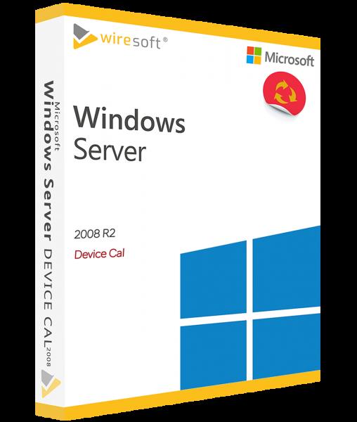 MICROSOFT WINDOWS SERVER 2008 R2 DEVICE CAL