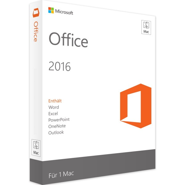 MICROSOFT OFFICE MAC 2016 STANDARD
