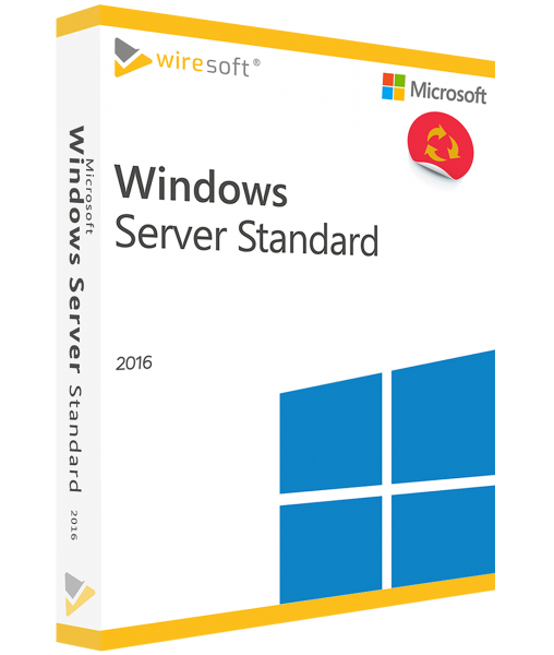 MICROSOFT WINDOWS SERVER 2016 STANDARD 16-CORE