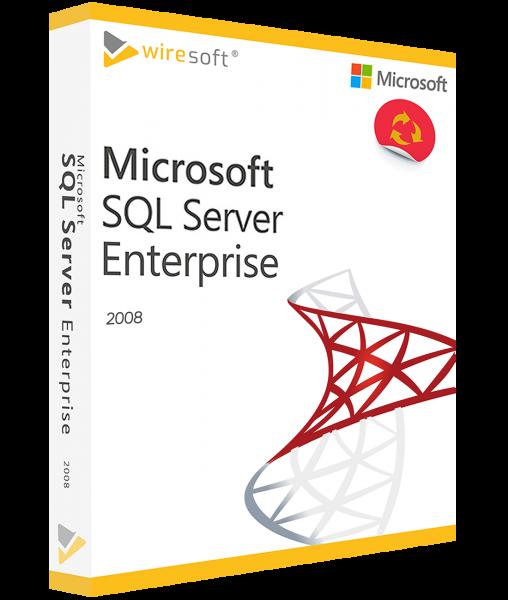 MICROSOFT SQL SERVER 2008 ENTERPRISE