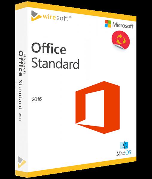 MICROSOFT OFFICE MAC 2016 STANDARD
